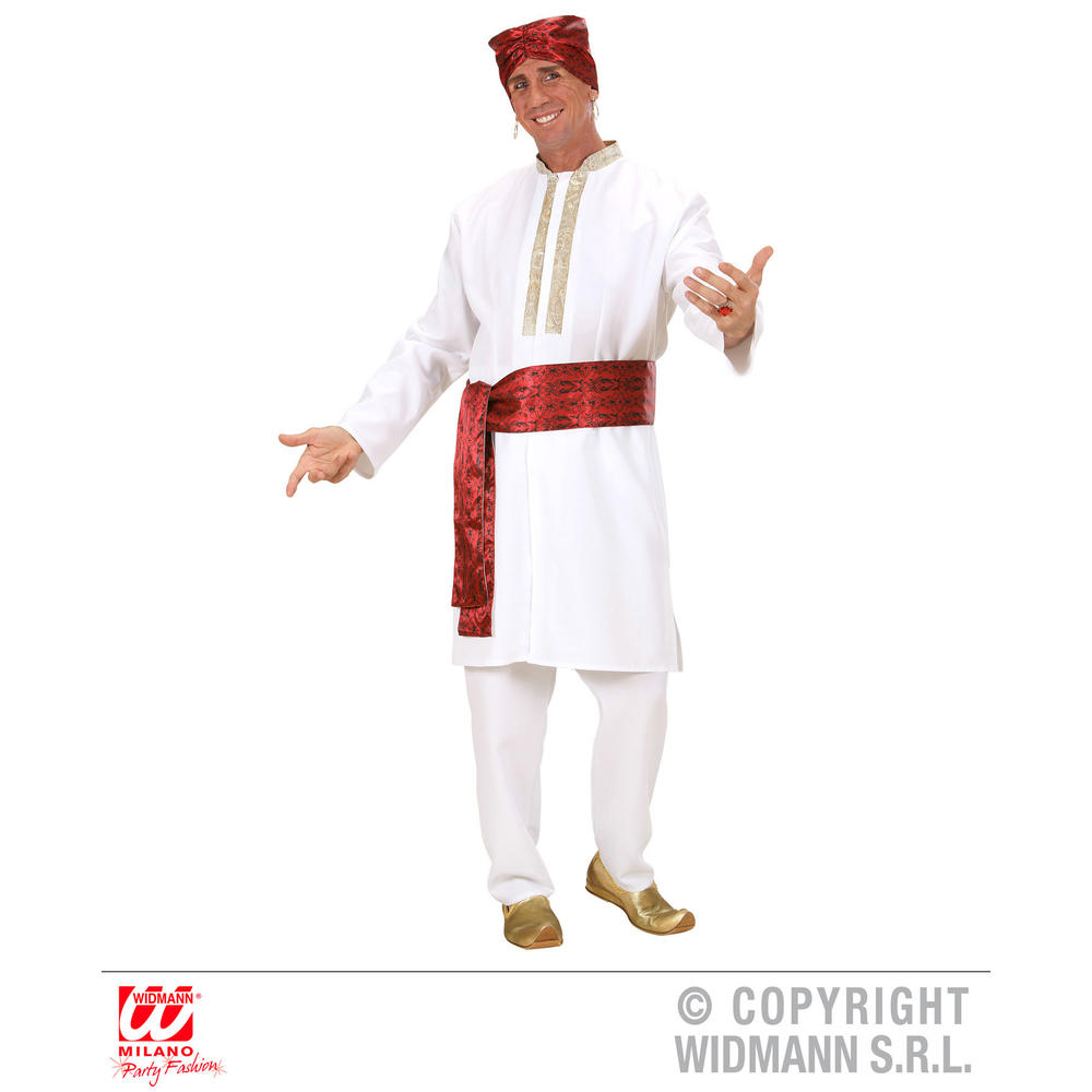 BOLLYWOOD STAR (tunic, pants, belt, turban)